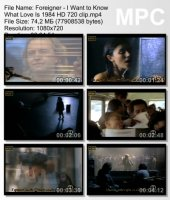Foreigner-I Want to Know What Love Is HD 720p