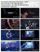 Machinae Supremacy-Action Girl (Live) HD 720p