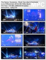 Scorpions — Rock You Like A Hurricane (Live Willkommen 2012) (HD 720p) (2012)