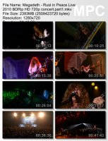 Megadeth-Rust in Peace BDRip HD 720p