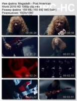 Megadeth-Post American World HD 1080p