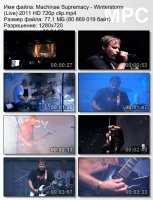 Machinae Supremacy-Winterstorm (Live) HD 720p