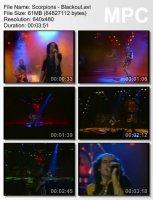 Клип Scorpions — Blackout (1982)
