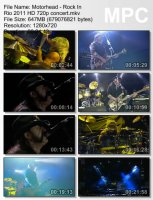 Motorhead-Rock In Rio HD 720p