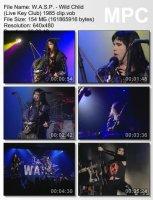 W.A.S.P.-Wild Chlid (Live Key Club)