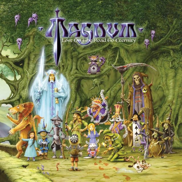 Новый альбом легендарных Magnum