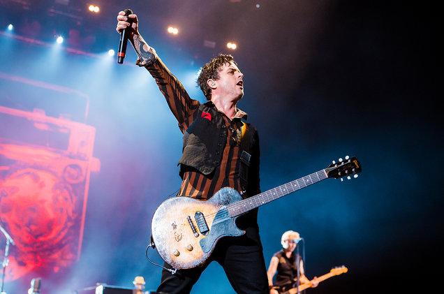 Новый проект вокалиста Green Day выпустил EP.