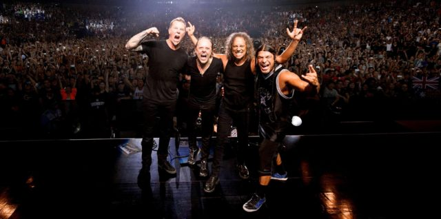 Metallica стала лауреатом престижной премии Popular Music Prize