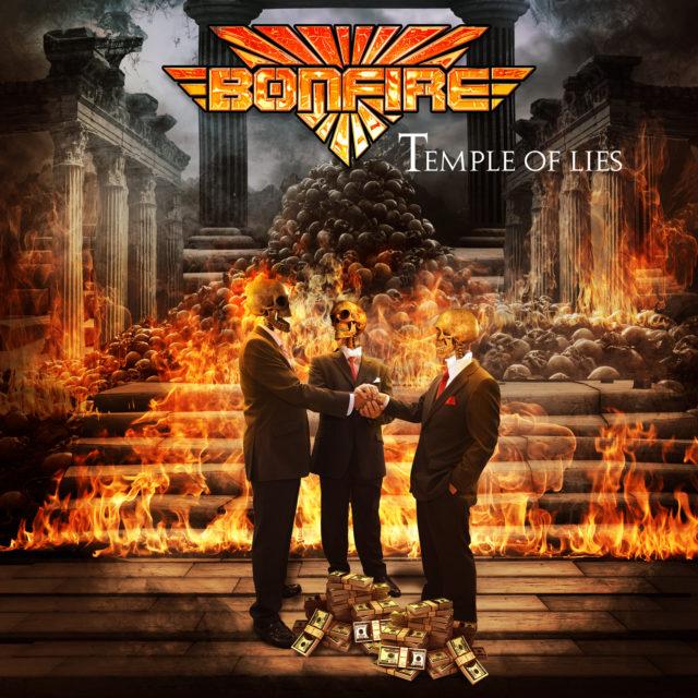 """Bonfire выпустили новый студийный альбом """"Temple Of Lies""""."""