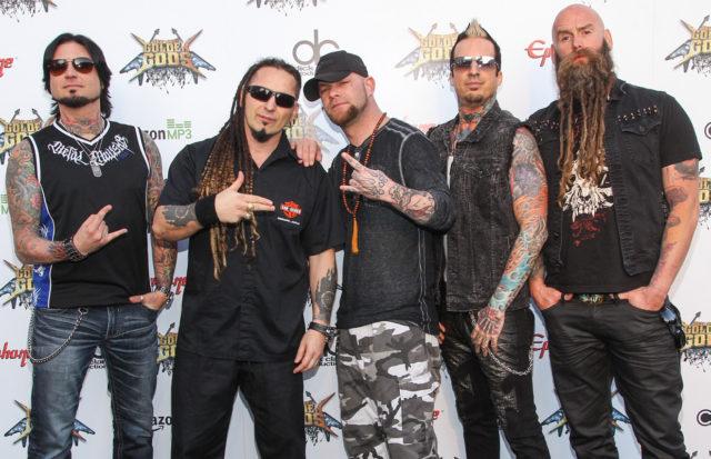 Five Finger Death Punch выпустили новый  альбом
