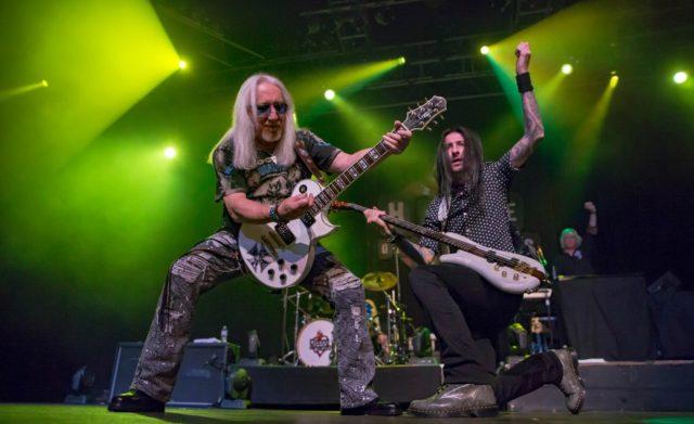 Uriah Heep выпустят 25-й студийный альбом «Living The Dream».