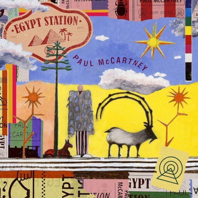 Пол Маккартни выпустил новый сольный альбом.