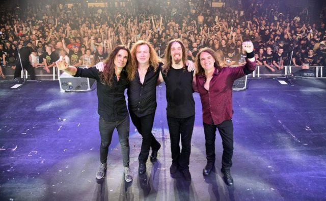 Дэвид Эллефсон говорит, что идёт процесс сочинения материала для нового альбома Megadeth.