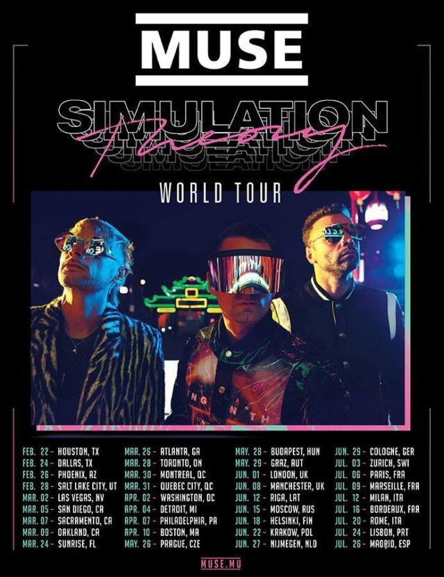 Muse возвращаются в Россию со своим концертом.