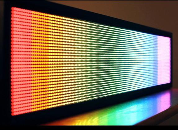 Большое светодиодное табло по приемлемой цене