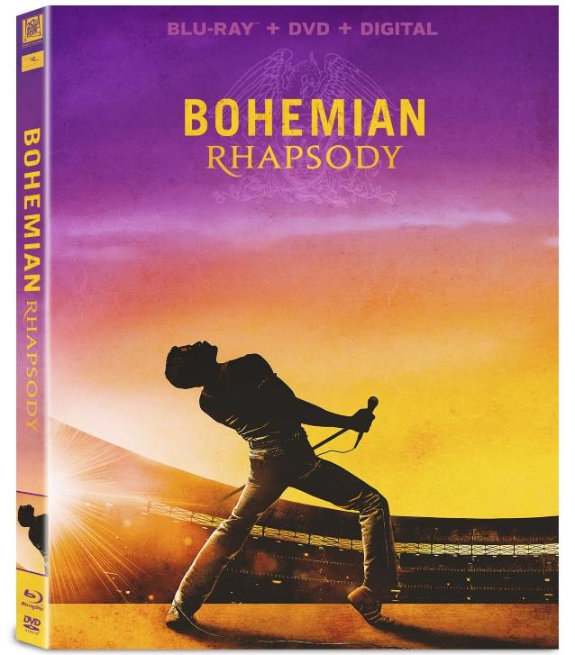 Фильм 'Богемская рапсодия выходит на DVD и Blu-Ray.
