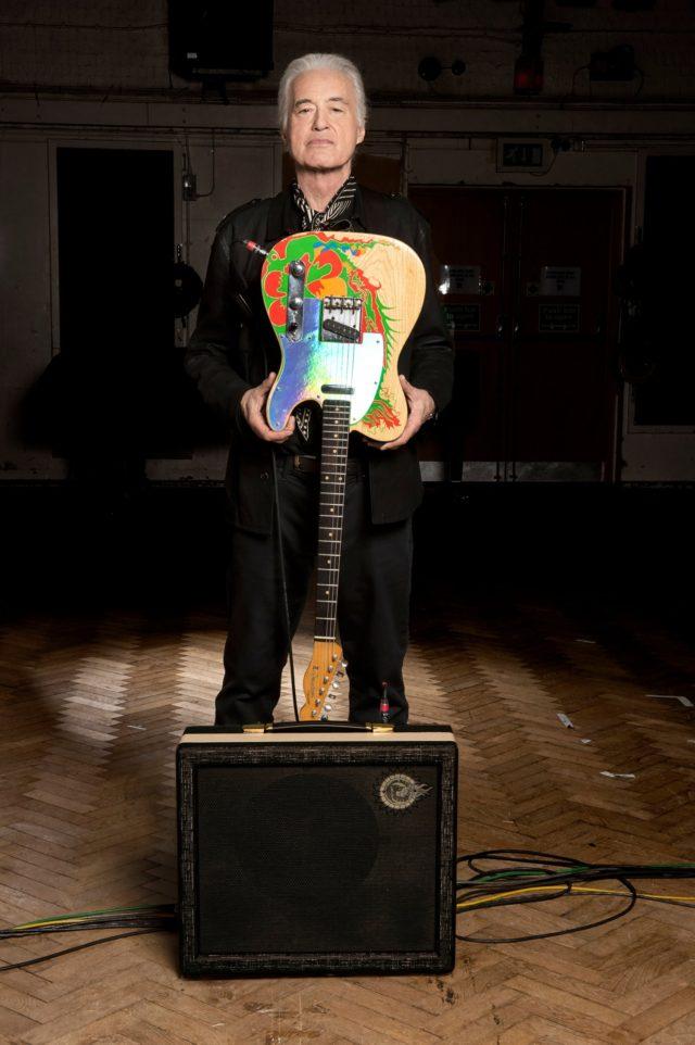 Джимми Пейдж представил новый гитарный усилитель SunDragon.