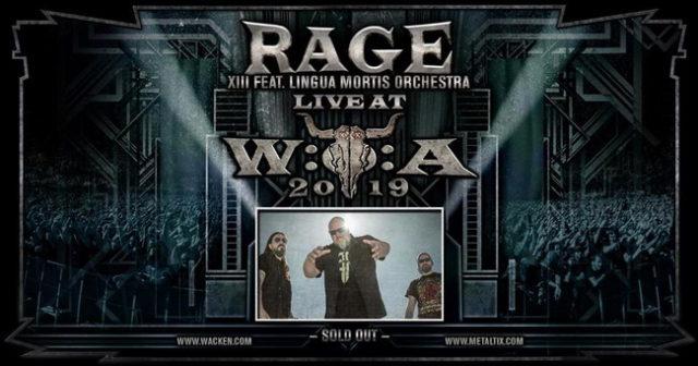 Rage будут полностью исполнять альбом 'XIII' с оркестром на летних фестивалях.
