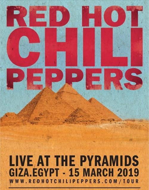 Red Hot Chili Peppers сыграют возле египетских пирамид.