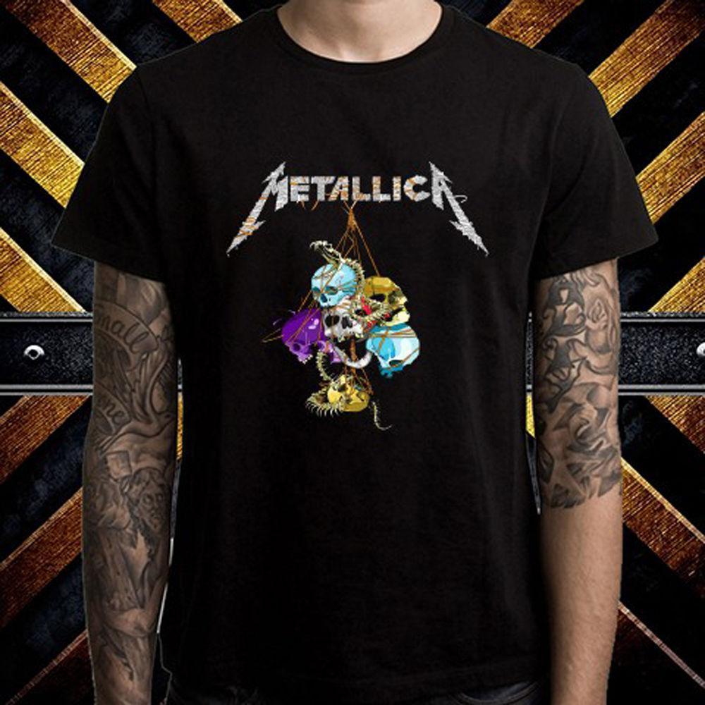 Качественные и модные футболки Metallica