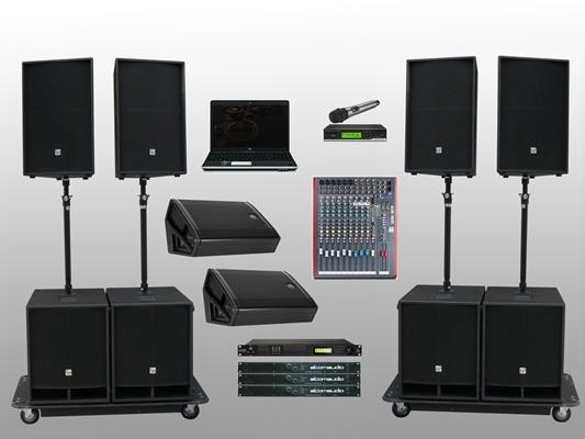 Большой выбор профессионального музыкального оборудования
