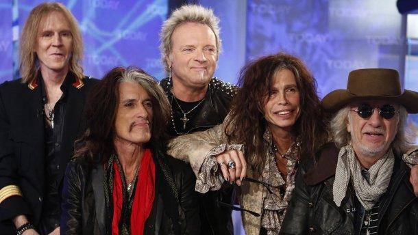 Aerosmith поделись видео с репетиций «Deuces Are Wild»