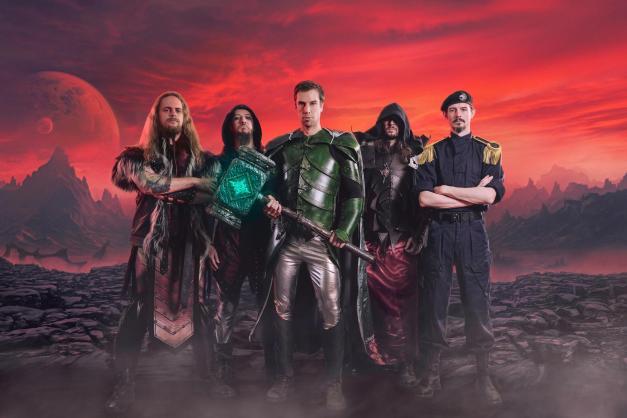 Новый клип Power Metal группы Gloryhammer в сети.