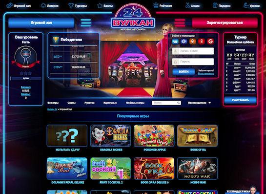 Самые популярные автоматы-онлайн в Вулкан 24
