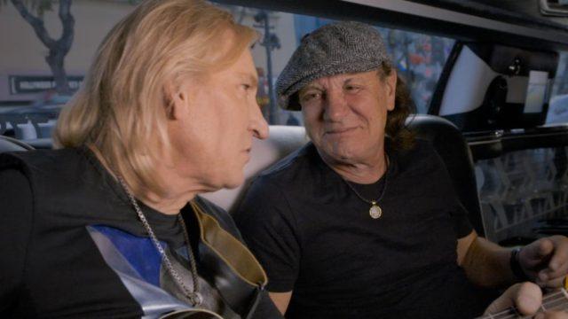 Вокалист AC/DC записывает музыку вместе с гитаристом Eagles