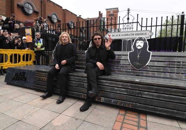 Музыканты Black Sabbath приняли участие в открытии памятного моста
