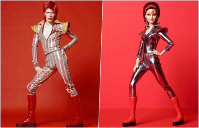 Выпущена кукла Барби в образе Зигги Стардаста Дэвида Боуи