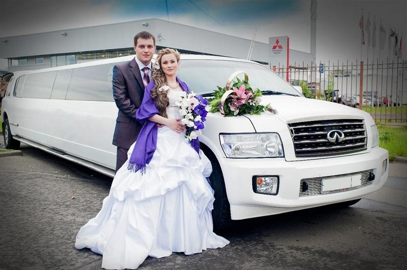 Прокат лимузинов на свадьбу в Москве