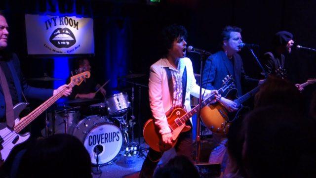 Участники Green Day выступили с кавер-программой