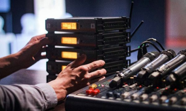 Профессиональное звуковое оборудование для мероприятий