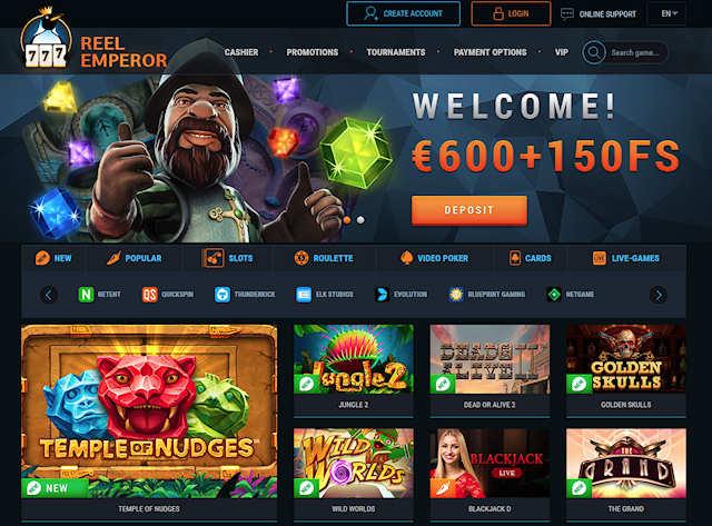Что собой представляет онлайн казино ReelEmperor?