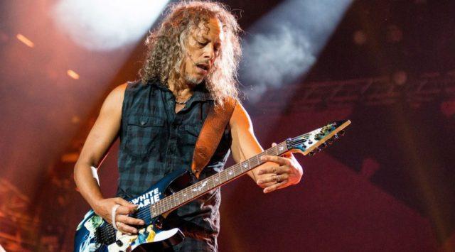 У Кирка Хэммета «полно крутого материала» для нового альбома Metallica