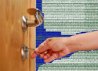 Как открыть входную дверь без ключа?
