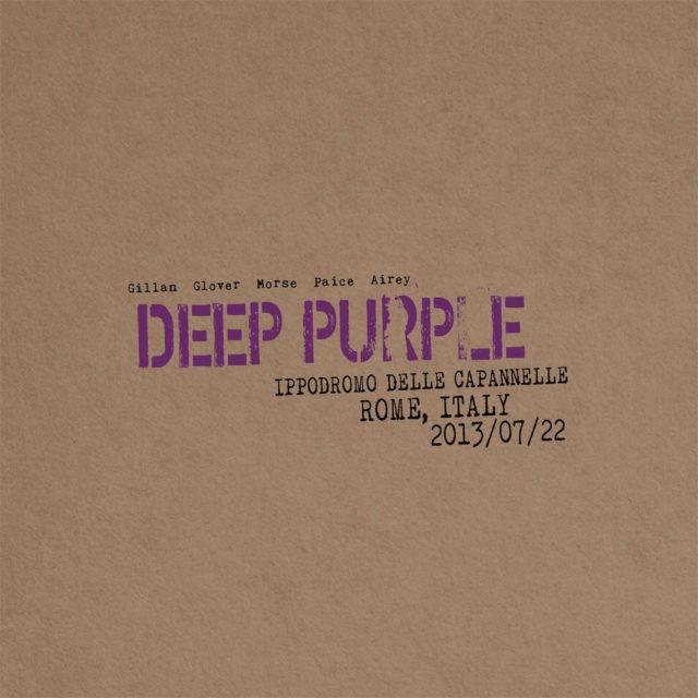 Deep Purple выпустят новый концертный альбом «Live In Rome 2013» в декабре