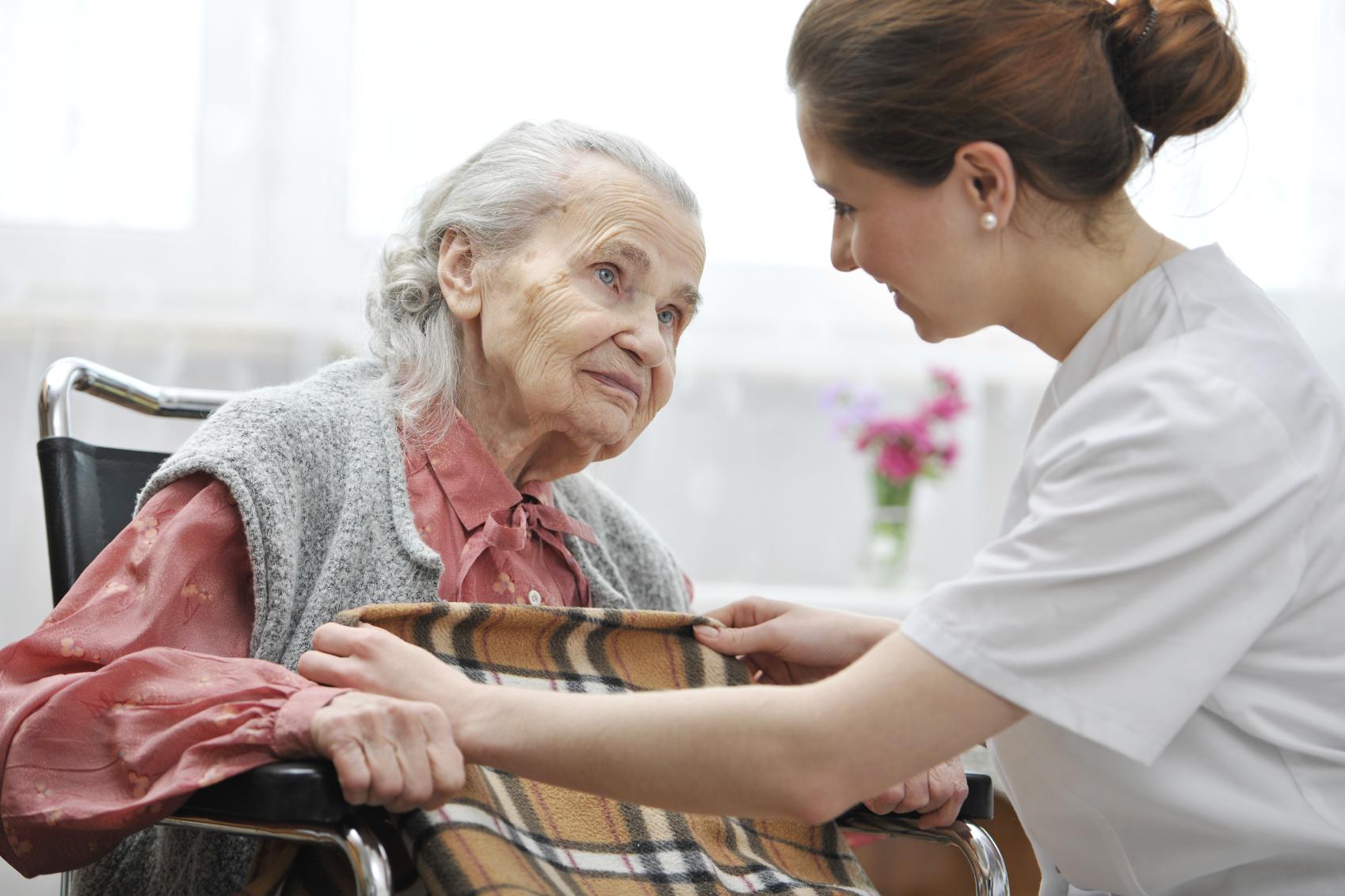 Профессиональный уход за престарелыми родственниками