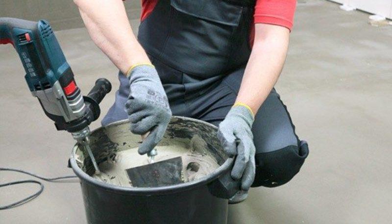 Как приготовить клей для плитки
