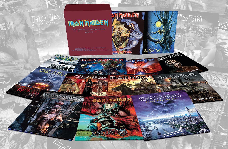 Виниловые пластинки группы Iron Maiden