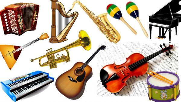 Большой выбор музыкальных инструментов в Екатеринбурге