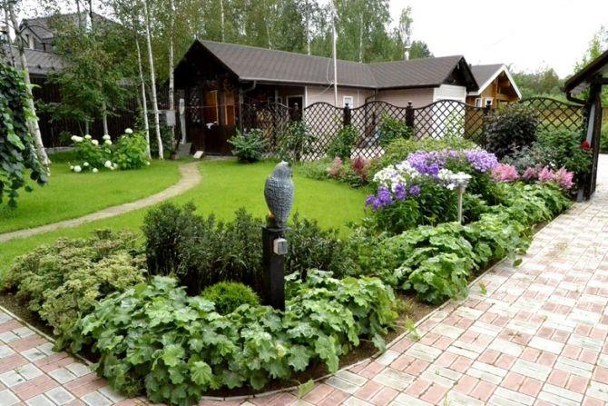 Основыне стили ландшафтного дизайна и озеленения