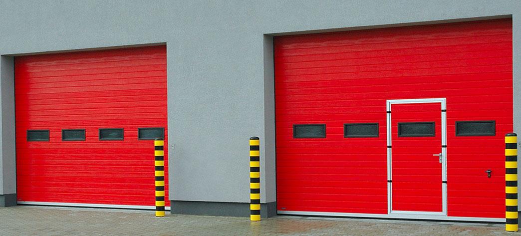 Секционные ворота для промышленности — конструкции, преимущества