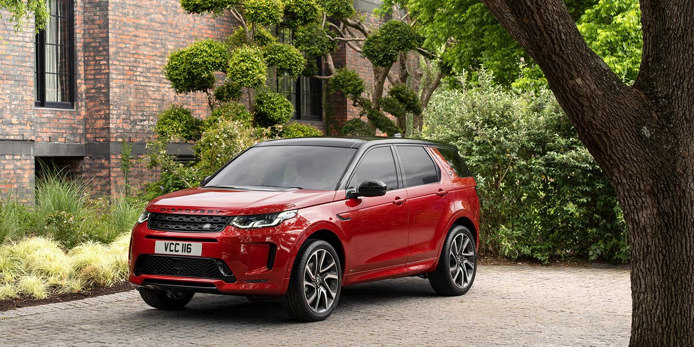 Семейный внедорожник - обновленный Land Rover Discovery Sport
