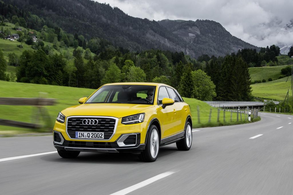 Audi Q2 с престижной наградой конкурса автомобильных брендов